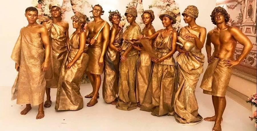 Поздравления в древнегреческом стиле